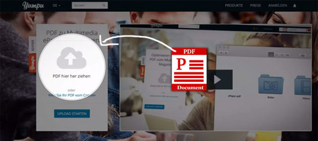 how to upload pdf to flipbook converter